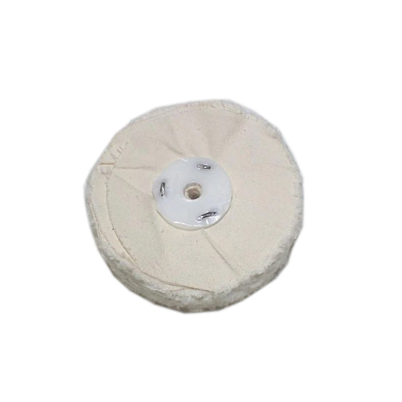 Mop (for buffing & grinding machines) Calico - Unstitched (Use Dropdown List to Select Size)