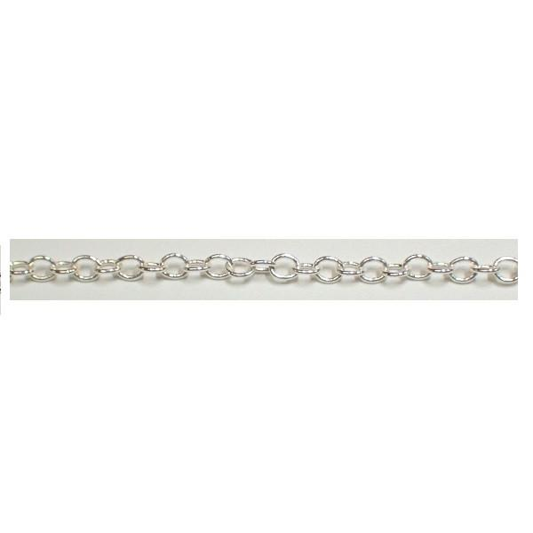 Chain & Readymades: Precious & Plated - Oval - (3.0mm X 3.8mm) #063CH0005