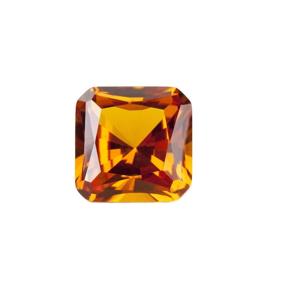 Dark Orange (Nano Crystal) - Asscher