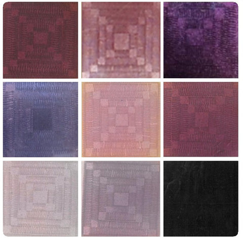 Emaux-Soyer Lead-bearing Transparent Enamels - Pink / Purple Colourwave (Select Colours from Dropdown List)