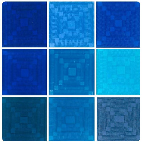 Emaux-Soyer Lead-bearing Transparent Enamels - Blue Colourwave (Select Colours from Dropdown List)
