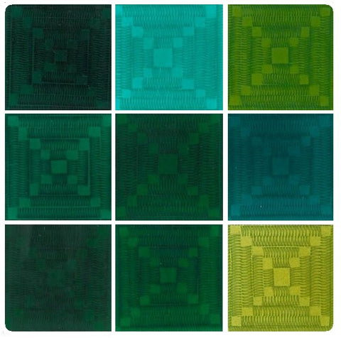 Emaux-Soyer Lead-bearing Transparent Enamels - Green Colourwave (Select Colours from Dropdown List)