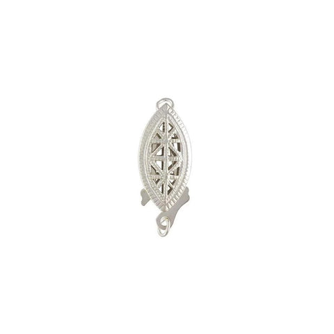 Marquise Shape Clasp - Filigree