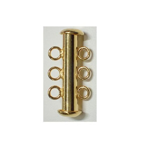 3 Row Slide Pearl Clasp
