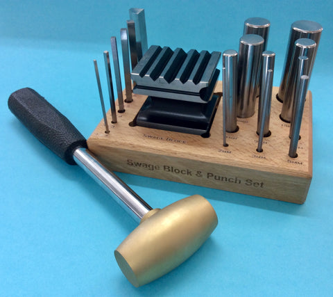 Forming Kit: Swage Block & Punch Set