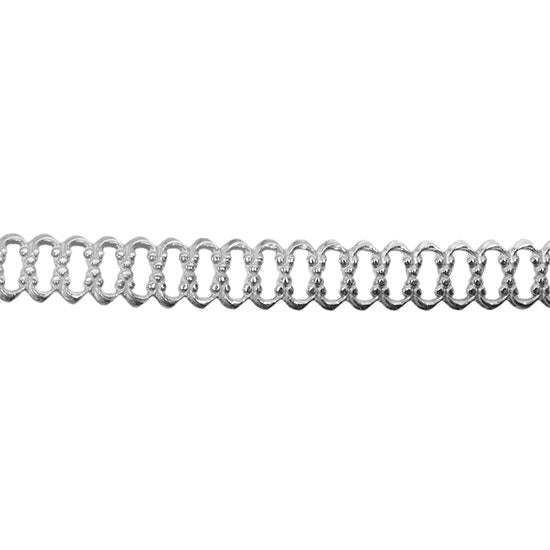 Sterling Silver Gallery Wire - Woven