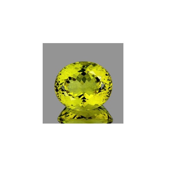 Green Gold Topaz (Natural Gemstone) - OVAL