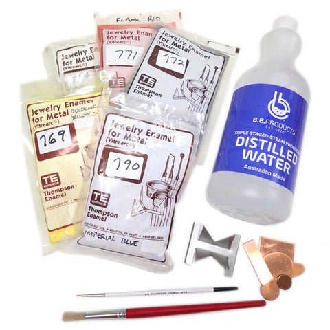 Basic Liquid Enamel Kit