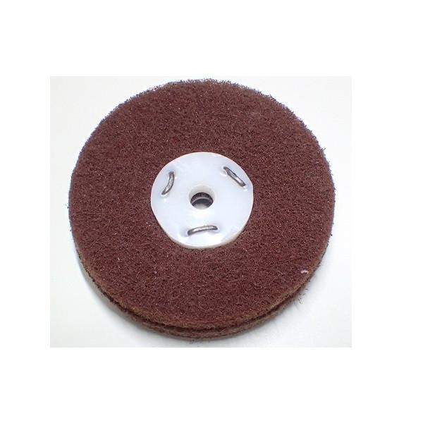 Major Equipment & Accessories - Mop (for Buffing & Grinding Machines) Scotchbrite - Medium Maroon