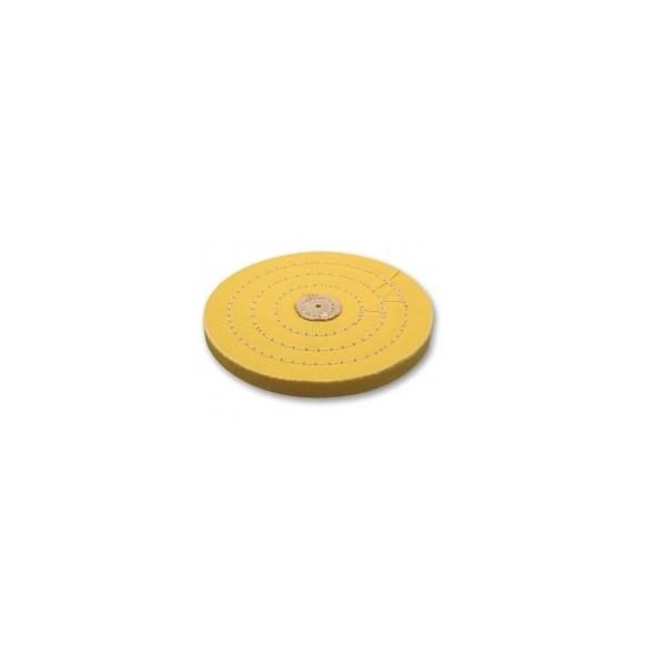 Major Equipment & Accessories - Mop (for Buffing & Grinding Machines) Yellow Muslin / Reflex - Stitched