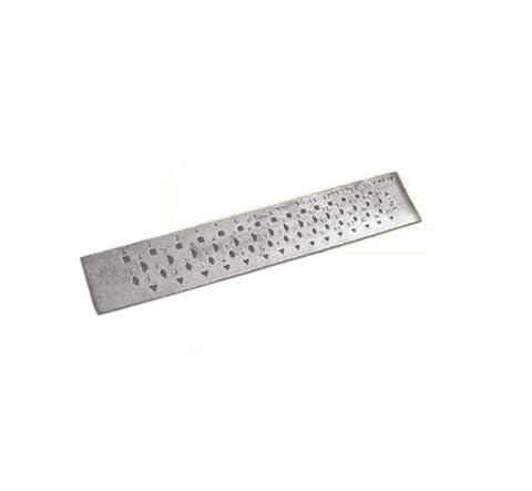 Major Equipment & Accessories - Multi Shape Draw Plate - Recycled Steel