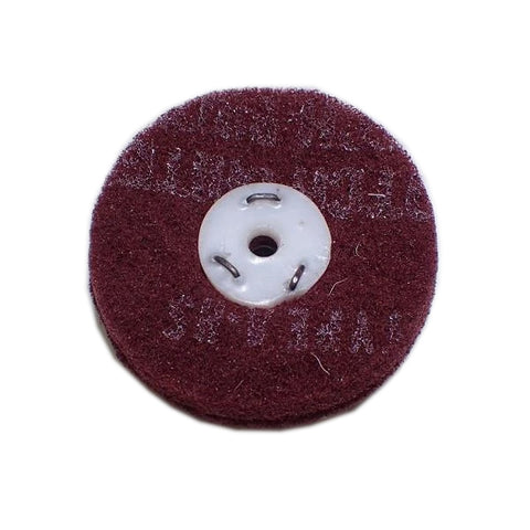Mop (for buffing & grinding machines) Long Lasting Scotchbrite - Very Fine Red