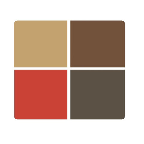 Mr. Color Opaque Enamel Paint for Metal: Brown Colourwave (Use Dropdown List to Select Colour)