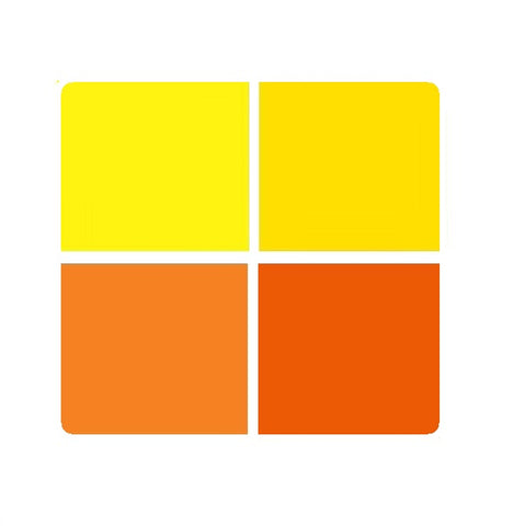 Mr. Color Opaque Enamel Paint for Metal: Orange / Yellow Colourwave (Use Dropdown List to Select Colour)