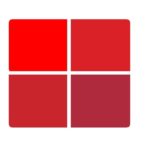 Mr. Color Opaque Enamel Paint for Metal: Red Colourwave (Use Dropdown List to Select Colour)