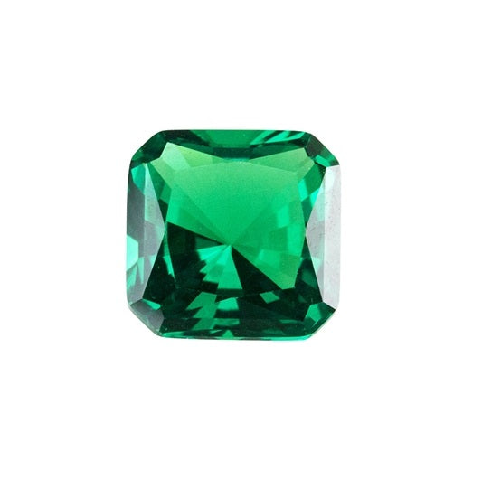 Emerald, Medium (Nano Crystal) - Asscher