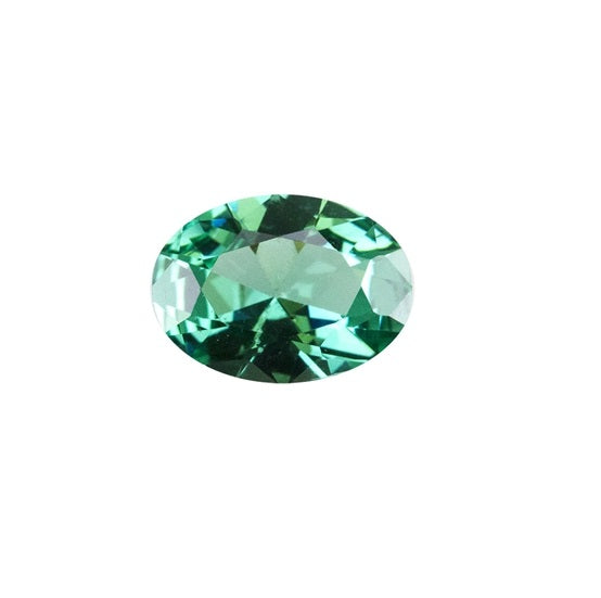Green Tourmaline (Nano Crystal) - OVAL