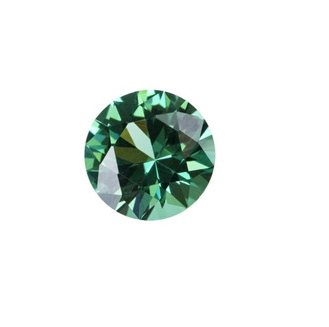 Green Tourmaline (Nano Crystal) - ROUND
