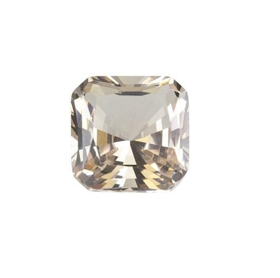 Light Tea Topaz (Nano Crystal) - Asscher