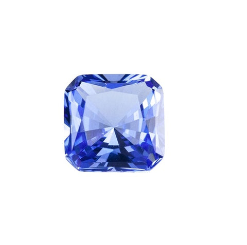 Light Tanzanite (Nano Crystal) - Asscher