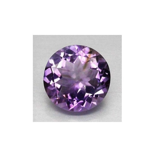 Brazilian Amethyst (Natural Gemstone) - ROUND