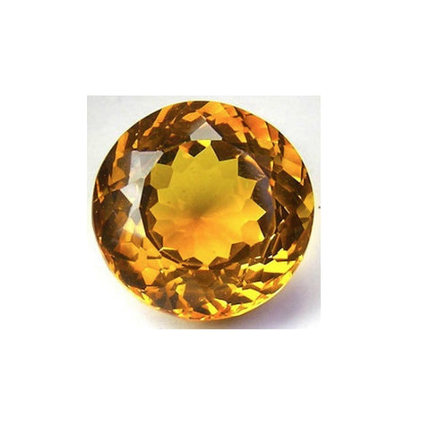 Citrine (Natural Gemstone) - ROUND