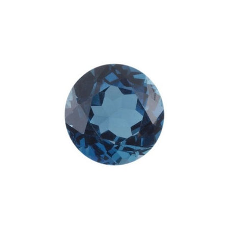 London Blue Topaz (Natural Gemstone) - ROUND