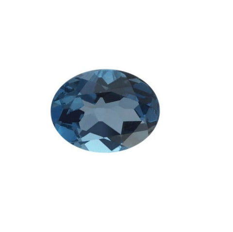 London Blue Topaz (Natural Gemstone) - OVAL
