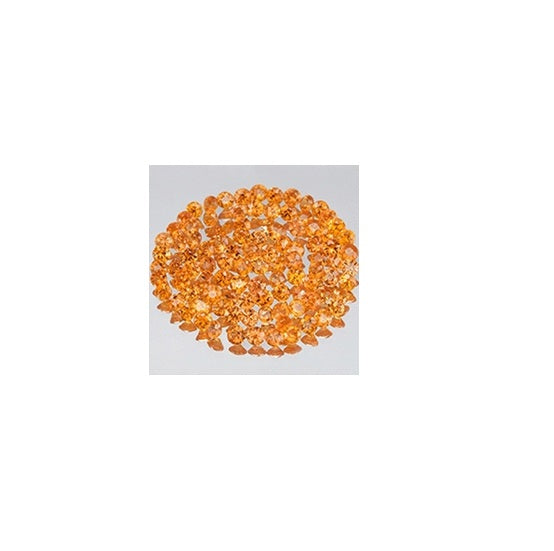Orange Sapphire (Natural Gemstone) - ROUND