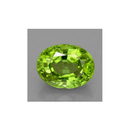 Peridot (Natural Gemstone) - OVAL