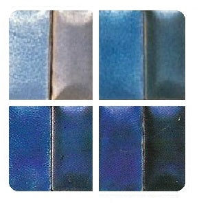 Ninomiya Lead-Bearing Transparent Enamels - Blue Colourwave (Select Colours from Dropdown List)