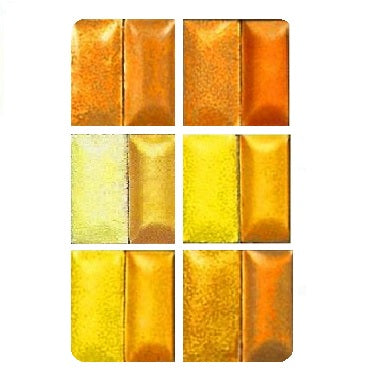 Ninomiya Lead-Bearing Transparent Enamels - Yellow / Gold Colourwave (Select Colours from Dropdown List)