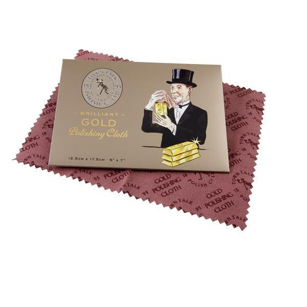 Point Of Sale Display, Packaging & Cloths - Town Talk Brilliant Gold Polishing Cloths