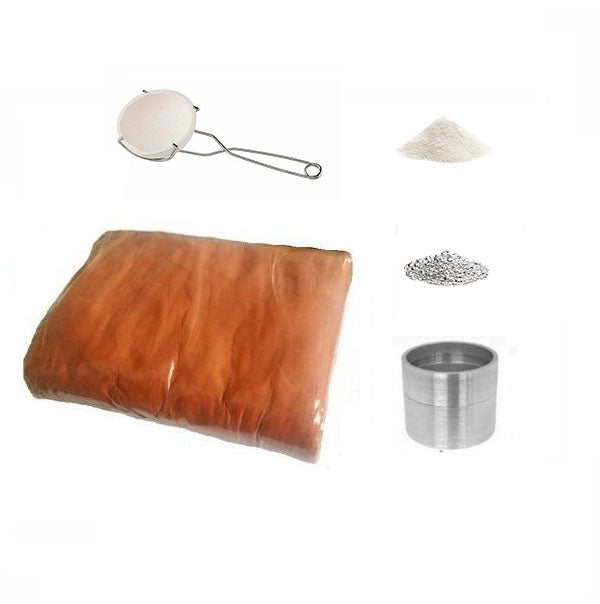 925 Sterling Silver Delft Style Sand Casting Kit