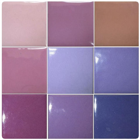 Thompson Lead-Free Opaque Enamels - Pink / Purple Colourwave / 25 Grams (Select Colours from Dropdown List)