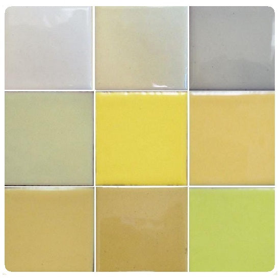 Thompson Lead-Free Opaque Enamels - Beige / Lt. Yellow Colourwave - 25 grams