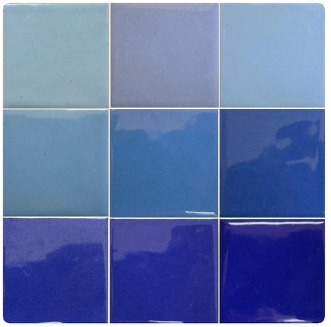 Thompson Lead-Free Opaque Enamels - Blue Colourwave / 25 Grams (Select Colours from Dropdown List)