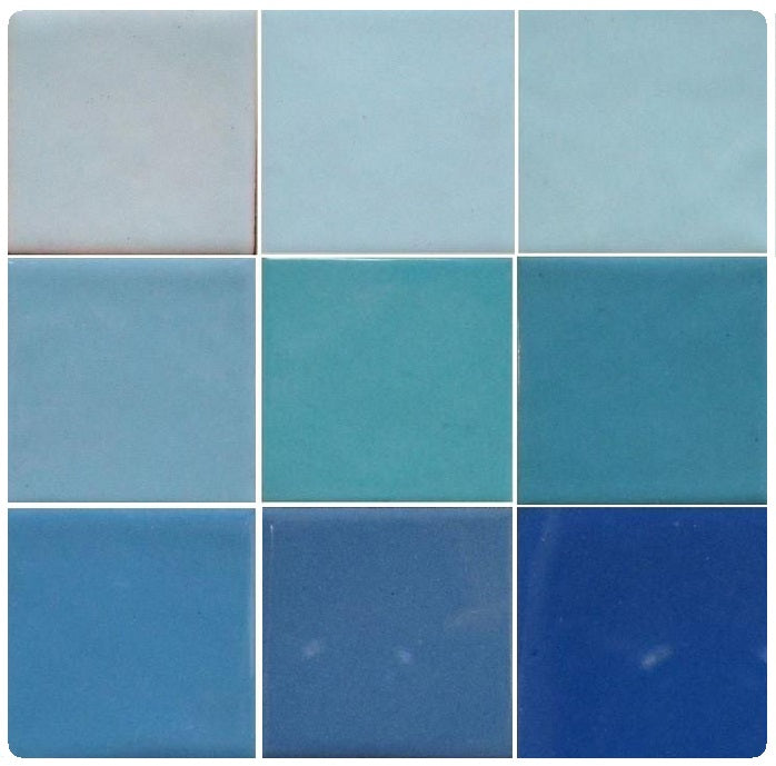 Thompson Lead-Free Opaque Enamels - Green Blue Colourwave - 25 grams
