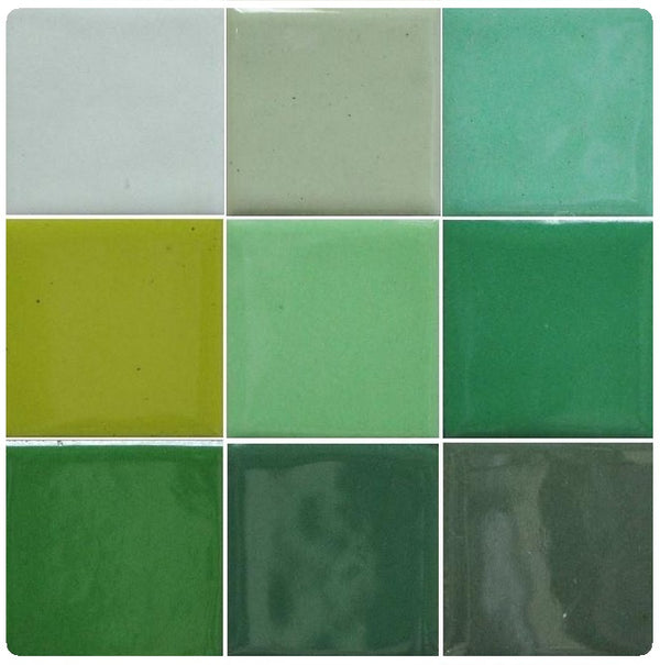 Thompson Lead-Free Opaque Enamels - Green Colourwave - 25 grams