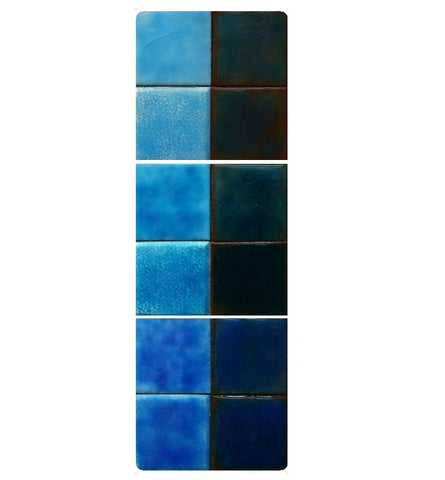 Thompson Lead-Free Transparent Enamels - Green Blue Colourwave - 25 grams