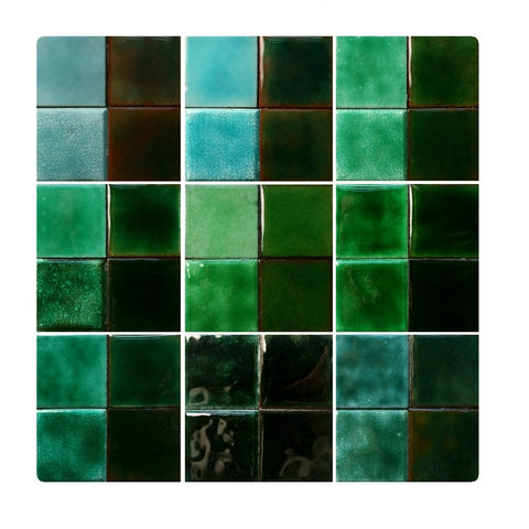 Thompson Lead-Free Transparent Enamels - Green Colourwave (Select Colours from Dropdown List)