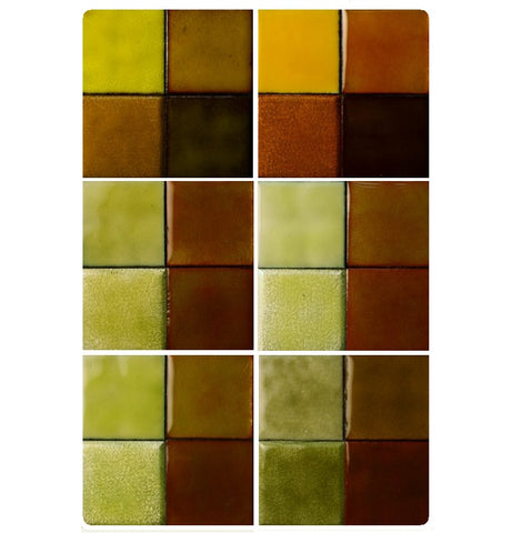 Thompson Lead-Free Transparent Enamels - Yellow / Green Yellow Colourwave / 25 Grams (Select Colours from Dropdown List)