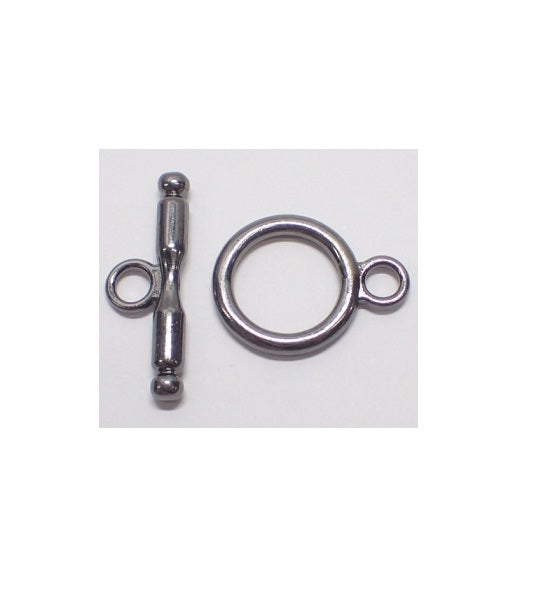 Toggle & T-Bar Clasp - Large (Use Dropdown List to Select Colour)