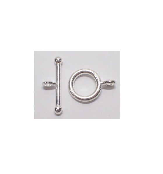 Toggle & T-Bar Clasp - Medium (Use Dropdown List to Select Colour)