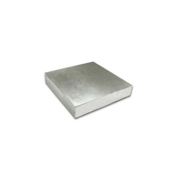 "Steel Bench Block - Square 4"" x 4"" x 3/4"""