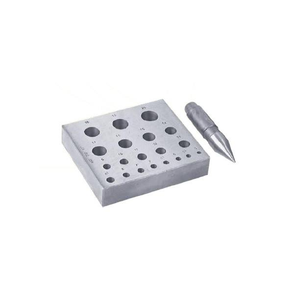 Tools & Consumables - Bezel Block & Punch Set (Collet Plate)