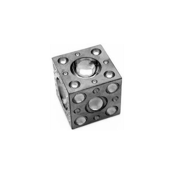 Doming (Dapping) Block - Steel 2.5""