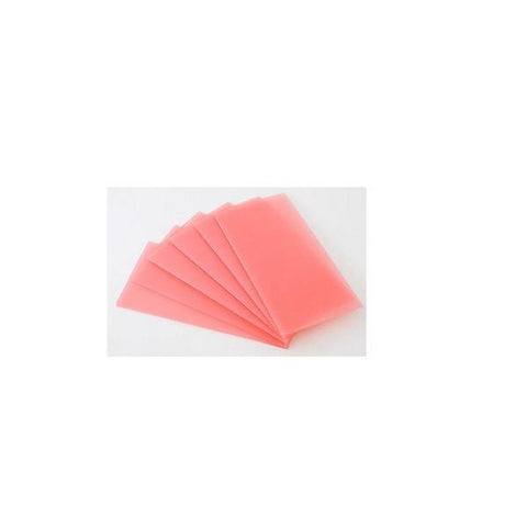 Pink Modelling (Casting) Wax Sheets