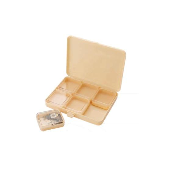 Tools & Consumables - Plastic Box With Square Containers