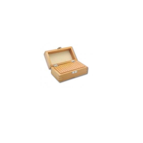 Tools & Consumables - Wooden Bur Box